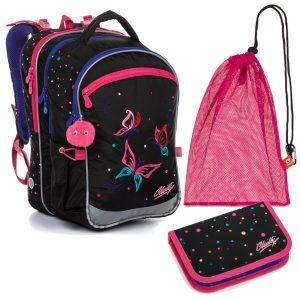 Školní set Topgal COCO 20004 G - batoh, penál a sáček na přezůvky