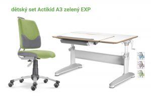 Dětský set zelený Actikid - Expert