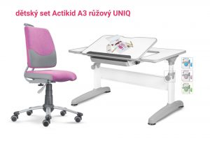 Dětský set růžový Actikid - Uniq