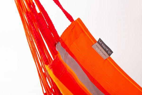 Závěsné houpací křeslo La Siesta Domingo Basic - toucan detail