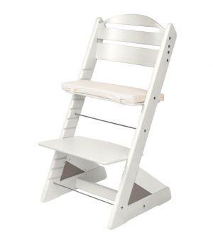 Rostoucí židle Jitro Plus bílá