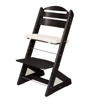 Rostoucí židle Jitro Plus černá