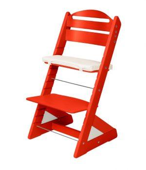 Rostoucí židle Jitro Plus červená