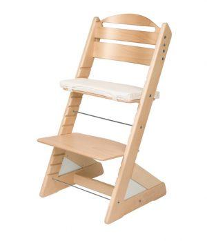 Rostoucí židle Jitro Plus přírodní lakovaná