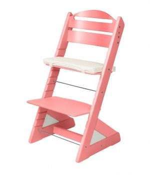 Rostoucí židle Jitro Plus růžová